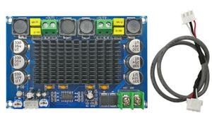 Image 4 - TPA3116D2 150W*2 Dual channel Stereo High Power Digital Audio Power Amplifier Board with TL074C OPAMP
