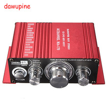 dawupine 20W HIFI Stereo Sound Amplifier For DVD CD TV Computer Radio MP3 Player Car Bicycle