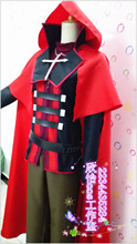 Anime RWBY Ruby Rose Cosplay para hombres / mujeres