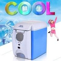 CBJ Auto Car Refrigerator Mini Fridge Dual Use Home Car 220V 12V Electric Cooler Box Heating
