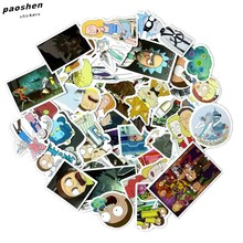 49Pcs / bag Amerika Dramı Yeni Rick və Morty Funny Laptop Decal for Car Laptop Velosiped Motosiklet Notebook Suya davamlı Etiketler