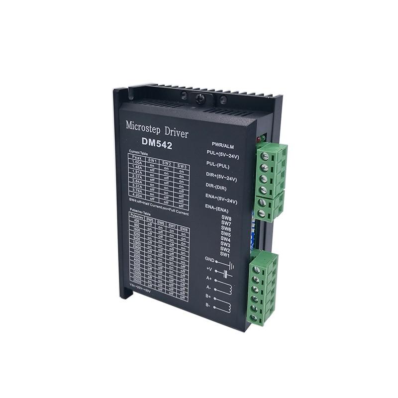 Schrittmotortreiber cintroller DM542 microstep motor bürstenlosen gleichstrommotor shell für 42 57 schrittmotor Nema17 Nema23