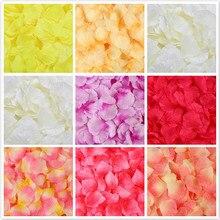 100 шт./упак. 5*5 см Моделирование искусственных цветов лепестки розы украшения свадьба брак комнатный цветок