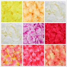 Artificial-Flowers Rose-Petals-Decorations Marriage Wedding Simulation 100pcs/Pack 5--5cm