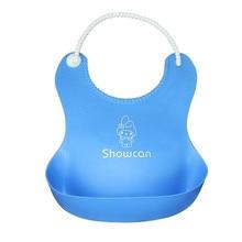 Cute Durable Waterproof Eco-Friendly Silicone Bib
