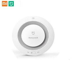 Xiaomi Mijia Home Alarm Honeywell Fire Alarm Detector Remote Control Audible Visual Alarm Notification Work With Mi Home APP
