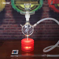 The Glawaer brand glass hookahs superior quality smoking nargile cool shisha and chicha for the best gifts