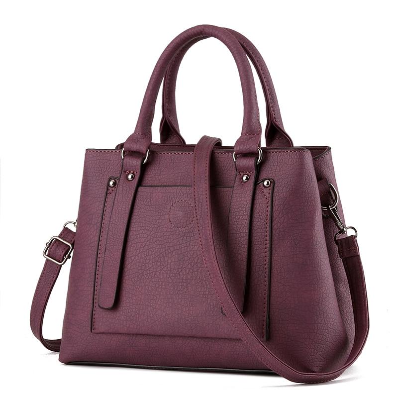 30 23 14 Large capacity woman font b handbag b font 2016 new PU leather shoulder
