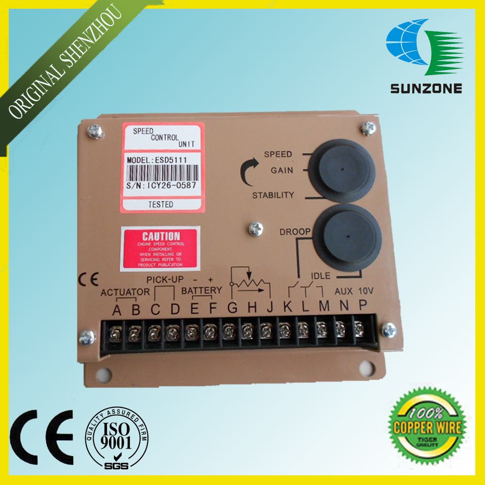 Free Shipping Engine Speed Control Unit ESD5111 For Generator diesel engine speed control unit 3044196