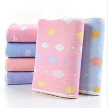 Children Baby Blankets Muslin Cotton 6 layers Gauze Infant Swaddling Toddler Kids Cute Super Soft Safe Bedding Blanket 110*110cm все цены
