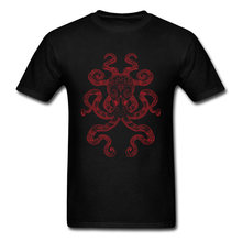 f7a3b6af574a 2018 Trendy Color Me Octopus Art Design Mans T Shirt O-neck Short Sleeve  Cotton Valentine's Day Gift Tops & Tees Om Cthulhu