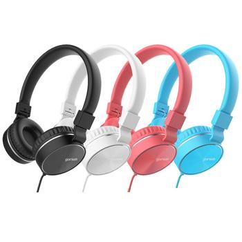 GS-776 Fashion Foldable Deep Bass 3.5mm Wired Headphone Stereo Music Headset Good quality