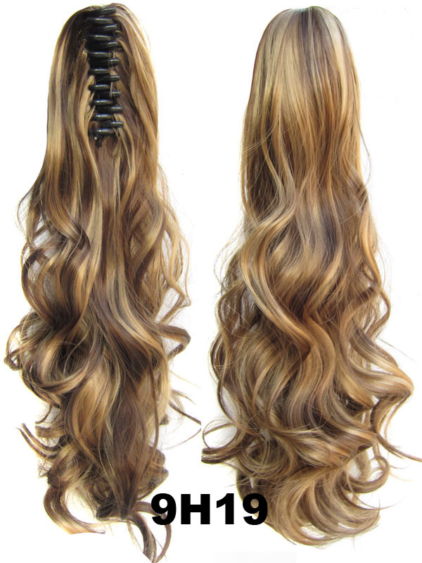 Heat Resistance synthetic wavy curl hair extension
