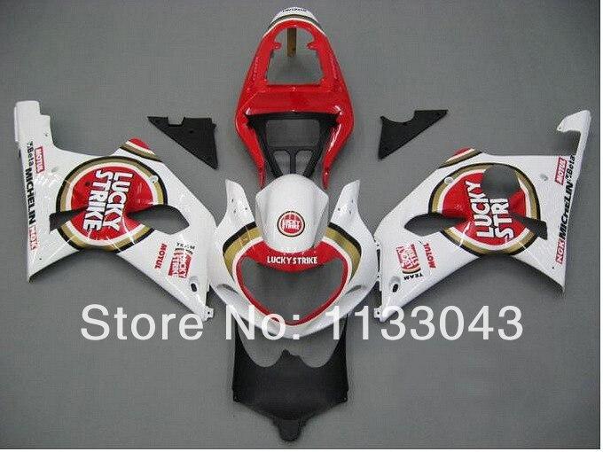 Подходит впрыска красный Lucky обтекатель комплект для SUZUKI GSX-R1000 GSXR1000 GSX R1000 GSXR 1000 K2 K1 00 01 02 2000 2001 2002 обтекатели