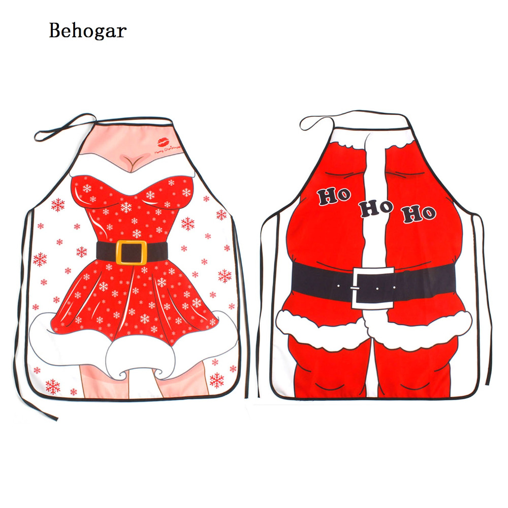 Behogar Christmas Novelty Cooking Kitchen Costumes Party Prop ...