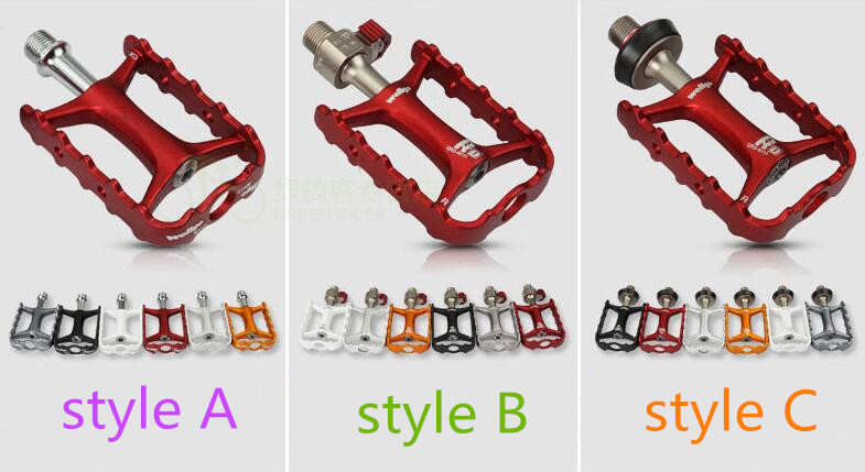 Wellgo Original M111 Quick Release Non-quick Release Bicycle Pedals Road Bike Ultralight Pedal MTB Cycling Bearing Pedals hot цена
