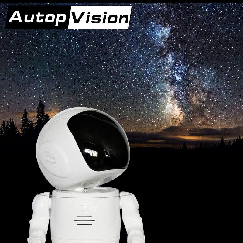 A180 5 PCS/lot 960 P Wifi Robot camara astronautes sans fil intelligent caméra IP prise en charge à domicile téléphone APP wifi robo surveillance