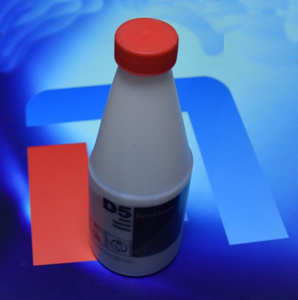Kompatibel D5 schwarz Entwickler für OCE D5 TDS400 450 TDS600 320 300 9600 1650G pro flasche - 3