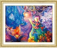 5D DIY Diamond Painting Flower Girl Butterfly Embroidery Cross Stitch Rhinestone Mosaic Painting Decor