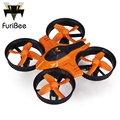 FuriBee F36 Mini Drone 2.4 GHz 4CH 6 Axis Gyro RC Quadcopter con headless modo interruptor de velocidad rc drones regalo kid toys vs jjrc h36