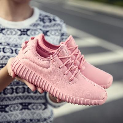 Nueva Llegada 2017 Mujeres Libres Del Envío Zapatos Planos Ocasionales de Moda de LA PU Cordón Zapatos Al Aire Libre Tamaño 35-40