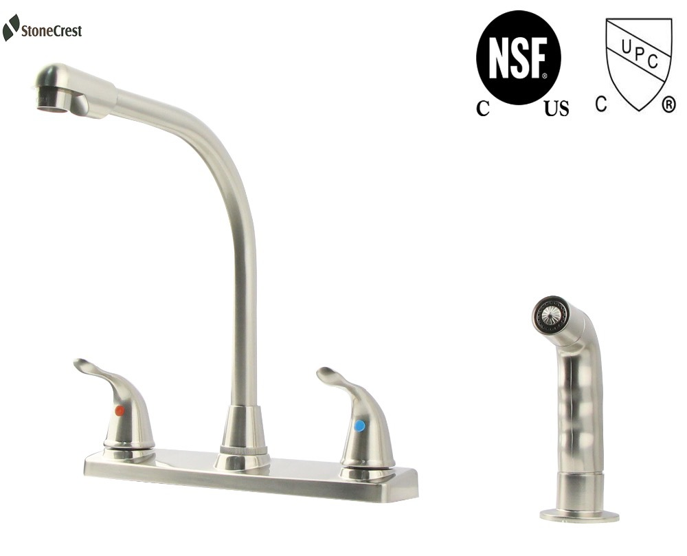 American Brand StoneCrest metal Kitchen Faucet with spray lead free ...