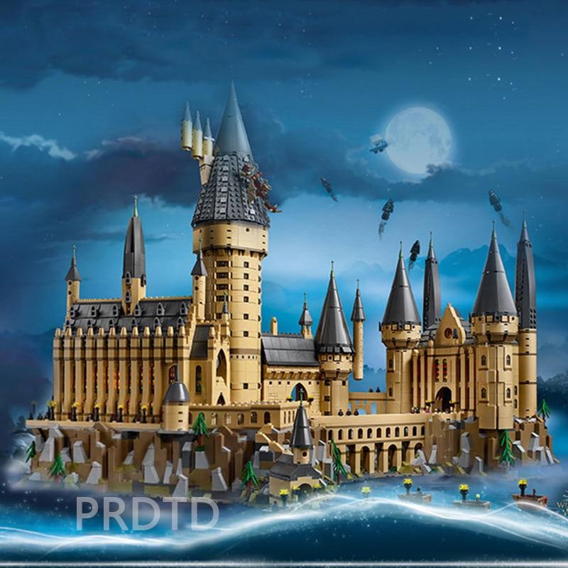 71043 Spain Harry Movie Potter Series The Legoing Hogwarts Castle Set Building Blocks Bricks Kid Toys House Model Christmas Gift
