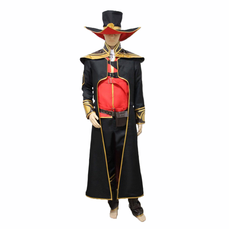 LOL Twisted Fate Cosplay Costume the Card Master Twisted Fate Cosplay For Halloween