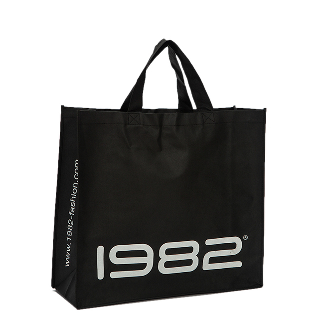 500pcs lot Promotional Reusable non woven shopping bags customized logo  recyclable grocery tote bags free 9d5f18e717b0