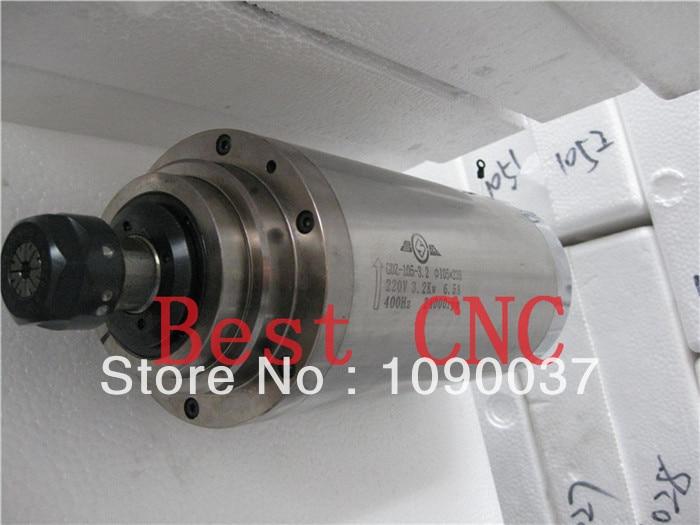 Kiváló minőségű ER-20 105mm 3.2kw cnc orsómotor 3.2kw CNC - Szerszámgépek és tartozékok - Fénykép 1
