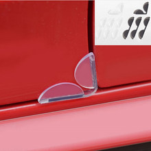 2019 NEW 4Pcs Car Door Edge Corner Guard Anti-scrash Bar Stickers for Audi A1 A2 A3 A4 A5 A6 A7 A8 Q2 Q3 Q5 Q7 S3-S8 TT RS3-RS6(China)