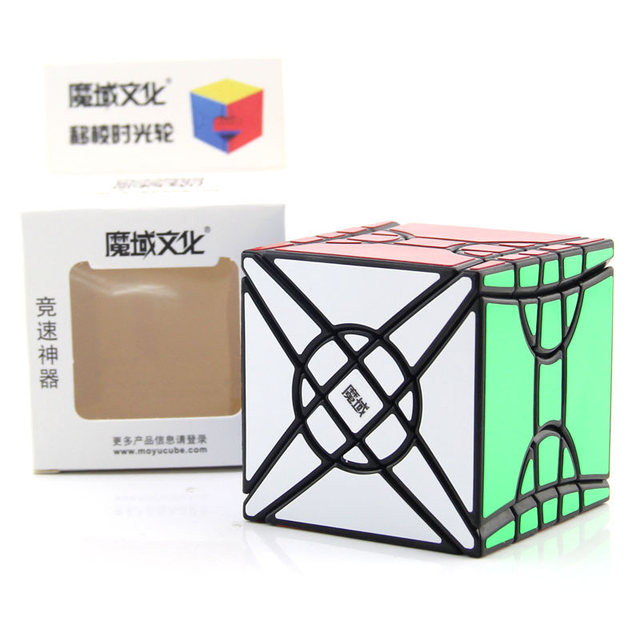 Moyu Fisher Time Wheel Cube 3x3x3 Magic Cube Professiona Specail Creative Puzzle Speed Cubes Educational Toys Gifts for KidsPuzzles & Games