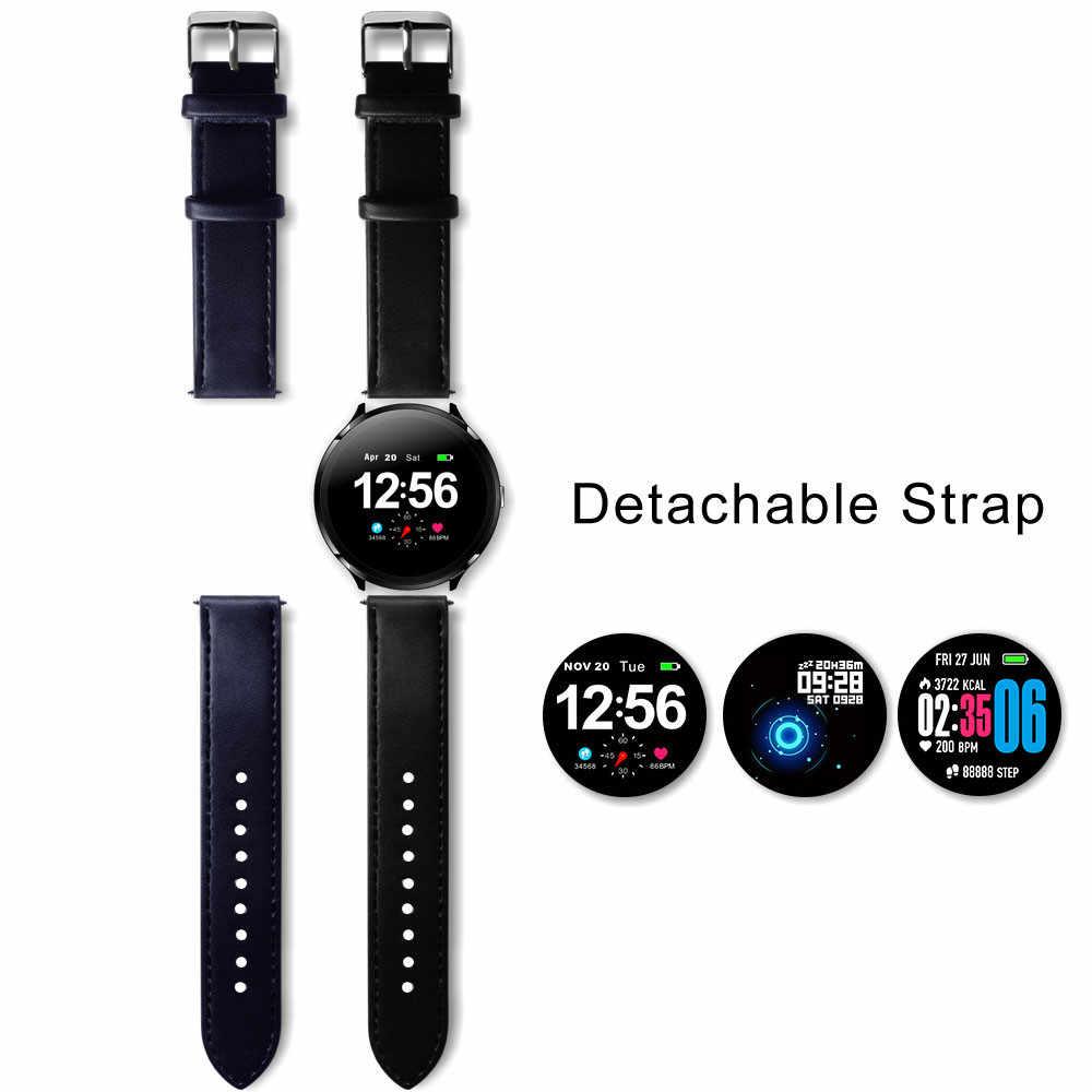 """V12 akıllı saat IP67 su geçirmez sağlık GPS spor kalp hızı Bluetooth Smartwatch 1.3 """"akıllı saat erkekler kadınlar için IOS Android"""