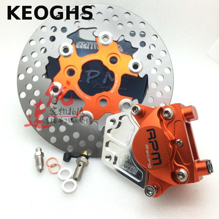 KEOGHS Motorcycle Rpm Brake Calipers System 84mm Mount 200mm Brake Disc For Yamaha Scooter Jog Yamaha Aerox Nitro Rsz rpm motor motorcycle brake calipers brake pump brake pad for yamaha aerox nitro bws 100 zuma rsz jog 50 rr force