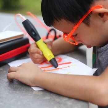 2019 Nowy 3d Długopis Przenośny 3d Pióro Do Drukarki USB Zasilany Garnitur W Stanie Dla Abs/pla Filament Nadaje Się Do Malowania Na Zewnątrz Z Cortex Bag