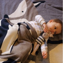 Big size handmade cotton knitted cartoon throw blanket newborn breathable baby blankets fox rabbit knitted cartoon.jpg 250x250