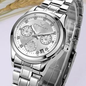 Image 2 - Reloj mecánico automático para mujer, cronógrafos para mujer, FNGEEN, reloj de negocios informal con fecha, reloj de vestir para mujer 2020