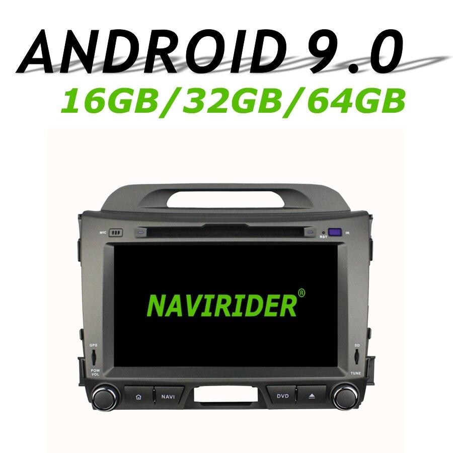 Navirider GPS navigation pour KIA Sportage 2010-2012 8