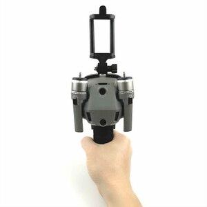 Image 5 - Dji mavic 2 pro 줌 드론 액세서리 용 휴대 전화 클립 마운트가있는 핸드 헬드 안정화 홀더
