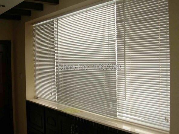 Custom Made Aluminum Horizontal Window Blinds 1 Inch