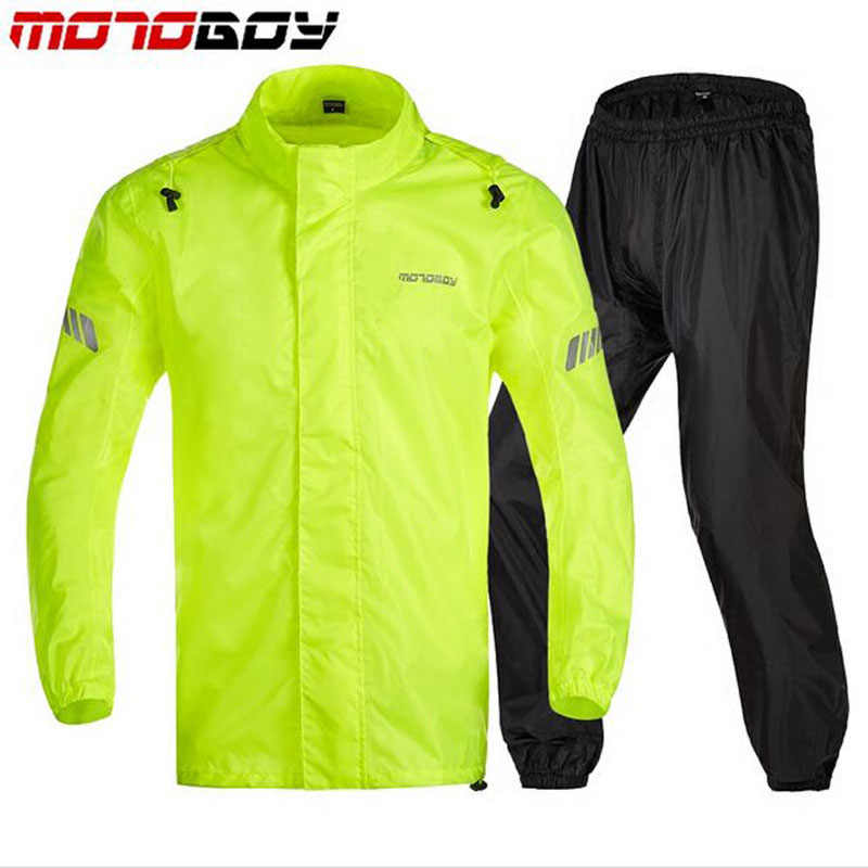 MOTOBOY men motorcycle jacket riding raincoat rain suit & pants women the trekking climbing scooter bicycle raincoat clothing