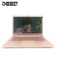 DEEQ 14 дюймов 8 ГБ ОЗУ 64 Гб/128 ГБ/256 ГБ SSD Intel четырехъядерный процессор 1920X1080 P FHD Windows 10 металлический ультратонкий ноутбук