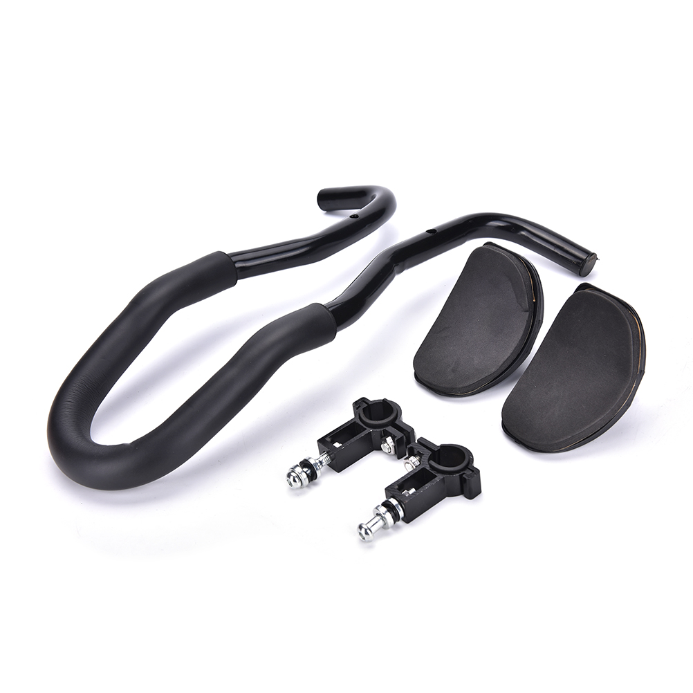 Genteel 1pc Road Mountain Bike Bicycle Relaxation Handlebar Black Aluminium Arm Rest Bicycle Front Rest Handlebar Goods Of Every Description Are Available Calendars, Planners & Cards