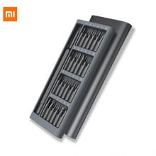 Оригинальный Xiaomi mijia wiha Отвёртки Комплект 24 точность магнитные биты Алюминий коробка Xiaomi Умный дом Наборы отвертка ежедневно Применение