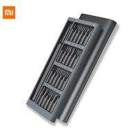 Original Xiaomi Mijia Wiha Screwdriver Kit 24 Precision Magnetic Bits Aluminum Box Xiaomi Smart Home Kits
