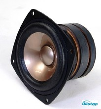HIFI 4 Inches Full Range Speaker Unit 4 Ohms 60Hz-23KHz 92dB Max Japanese AKISUI4 For Monitor Speakers Tube Amplifier DIY Audio
