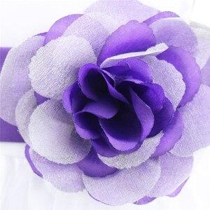 Image 5 - Vestido infantil de pétalos de flores para niña, concurso de belleza boda de novias, tul, vestido Formal de fiesta, vestido de flores para niña, vestido de princesa para niña