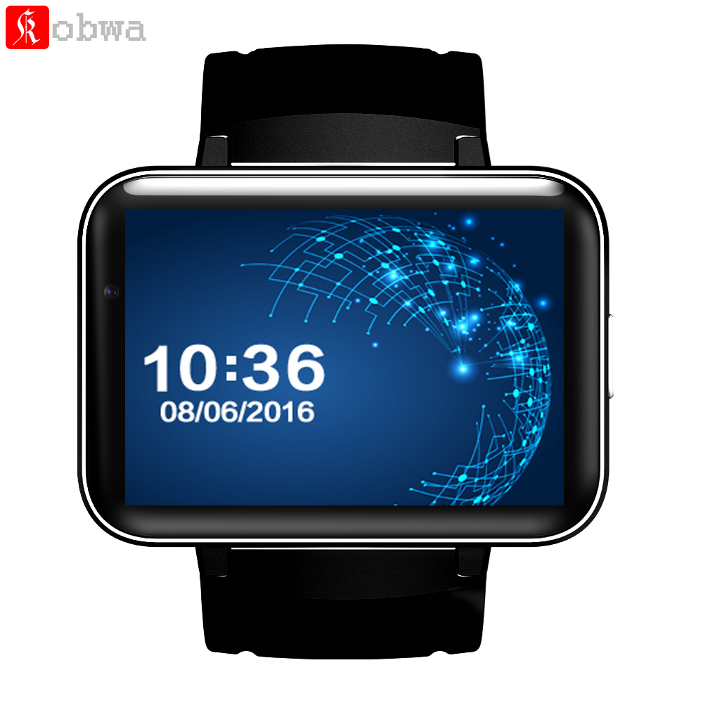 DM98 Bluetooth Smart Watch 2.2 inch 3G Smartwatch Phone MTK6572 Dual Core 1.2GHz Camera GPS WIFI Fitness Tracker Sleep Tracker domino dm98 3g smartwatch phone
