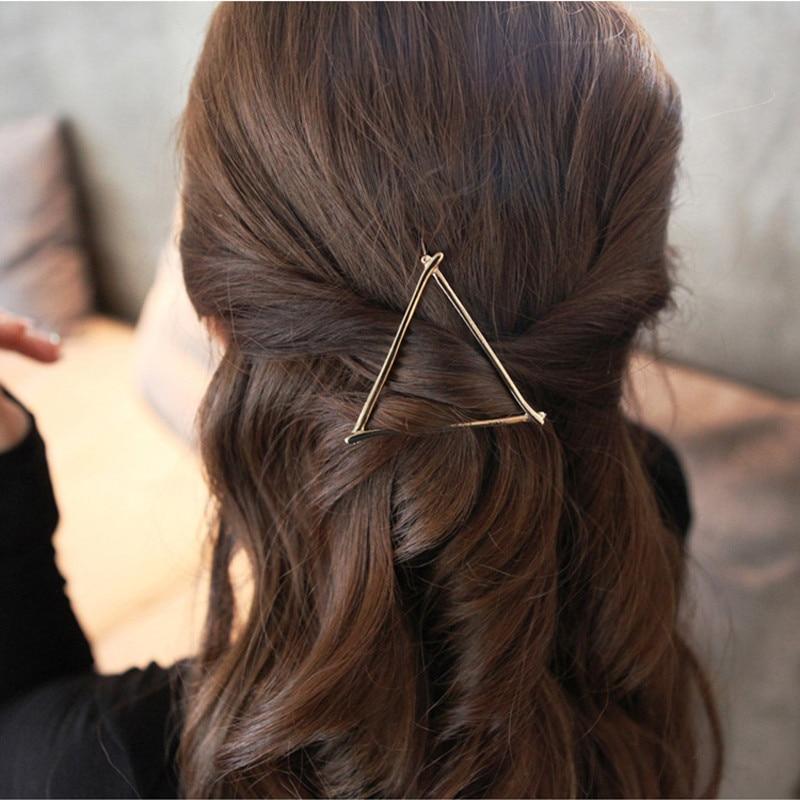 LNRRABC Gold Silver Color Hair Clip Metal Hairpin Women Hair Jewelry Accessories Headdress Barrette accesorios para el pelo