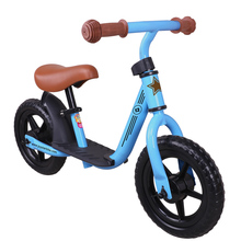 10/12 Inch Kids Balance Bike Learn To Ride On Toys With Footrest